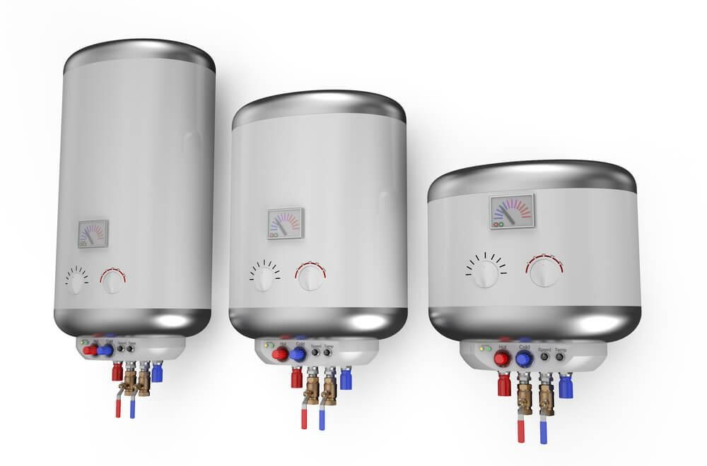 3 Different Size Tankless Hot Water Heaters