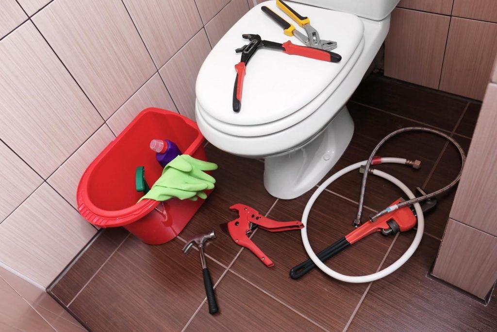 Plumbing repairs toilets